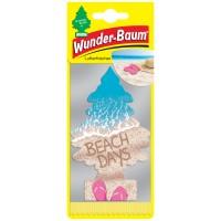 Odorizant auto, bradut, Wunder-Baum Beach Days, 7.6 x 0.3 x 19 cm
