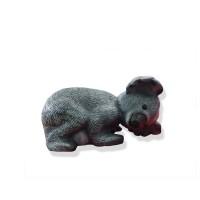 Figurina koala 2 1311100, din PVC, decoratiune gradina, H 18 cm
