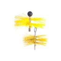 Arici rotund din nylon, curatare cos fum, D 150 mm, 4ESS15C