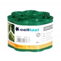 Separator gazon Cell Fast, plastic, verde inchis, 10 cm x 9 m