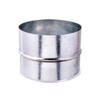 Mufa tabla galvanizata, D 100 mm
