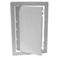 Usita pentru acces instalatii sanitare, Bellplast, alba, 15 x 15 cm