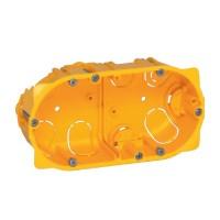 Doza gips carton Legrand Batibox 080042, clasic, 2 x 2 module