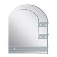 Oglinda baie E132, 60 x 80 cm, 3 etajere