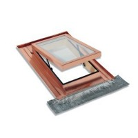 Luminator pentru mansarda Dakota Sky Line, aluminiu, maro, 48 x 90 cm