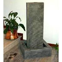Fantana arteziana, Corado I, decoratiune gradina, cu bazin, Vario 2000, cu pompa de recirculare apa, 65 x 65 x105 cm