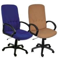 Scaun birou directorial Leganza, rotativ, stofa, diverse culori