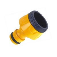 Adaptor robinet - furtun pentru irigatii gradina, 1 iesire, filet interior, 13 mm/19 mm, polipropilena, DY8024l