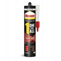 Adeziv pentru suprafete multiple, interior / exterior, Moment One for All High Tack, alb, 440 gr