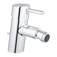Baterie baie pentru bideu Grohe Concetto 32208001, cu ventil, monocomanda, finisaj cromat