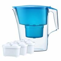 Cana filtranta, pentru apa potabila, Aquaphor Time, 2.5 L, cu 3 cartuse B25