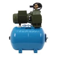 Hidrofor Saer M153, cu pompa autoamorsanta din fonta + vas 50 L + presostat + manometru + furtun flexibil + racord 5 cai + ejector, 1100 W