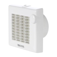 "Ventilator axial automat cu timer Vortice Punto M 120/5"" AT, D 120 mm, 20 W, 175 mc/h, 11331"