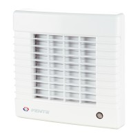 Ventilator axial automat cu timer Vents 100 MAT, D 100 mm, 18 W, 2300 RPM, 98 mc/h