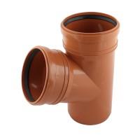 Ramificatie PVC cu inel, D 160 x 160 mm, 67 grade
