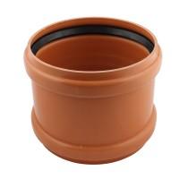 Mufa PVC cu inel, D 110 mm