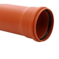 Teava PVC pentru canalizare exterioara, multistrat, SN4, 160 x 4 mm, 1 m