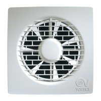 Ventilator axial Vortice Filo MF 100/4 11123, D 100 mm, 15 W, 85 mc/h
