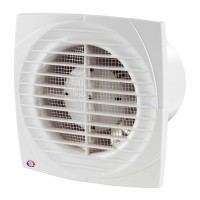 Ventilator axial cu intrerupator fir Vents 125 DV, D 125 mm, 16 W, 2400 RPM, 180 mc/h