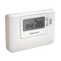 Cronotermostat de ambient pentru centrala, cu fir, Honeywell CMT707 A1011, programabil