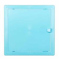 Usita vizitare, TE-MA, pentru instalatiile sanitare, albastru deschis, 15 x 15 cm