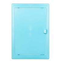 Usita vizitare, TE-MA, pentru instalatiile sanitare, albastru deschis, 15 x 20 cm