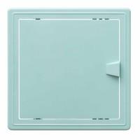 Usita vizitare, TE-MA, pentru instalatiile sanitare, verde deschis, 20 x 20 cm