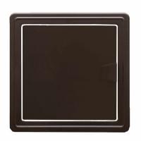 Usita pentru acces instalatii sanitare, maro, 20 x 20 cm