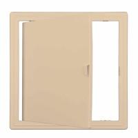 Usita vizitare, TE-MA, pentru instalatii sanitare, bej, 30 x 30 cm