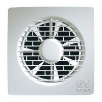 Ventilator axial cu timer Vortice Filo M 150/5 11129, D 150 mm, 30 W, 335 mc/h