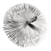 Arici rotund din otel, curatare cos fum, D 250 mm, 4ER25C