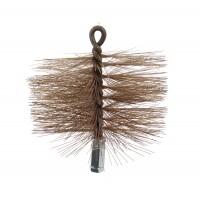 Arici sarma otel, curatare burlane de soba, D 150 mm, 4TPM150