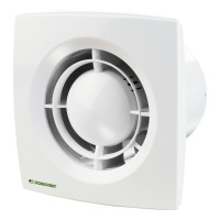 Ventilator axial Domovent 125X1, D 125 mm, 16 W, 2400 RPM, 185 mc/h