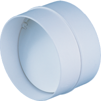 Conector cu clapeta antiretur, Vents, D 100 mm