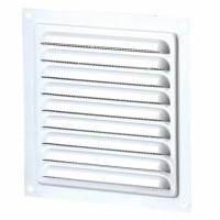 Grila exterior, pentru ventilatie, metalica, Vents MVM 150S, 150 x 150 mm