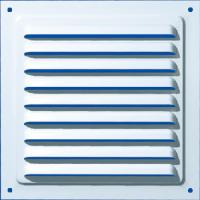 Grila exterior, pentru ventilatie, metalica, Vents, MVM200, 200 x 200 mm