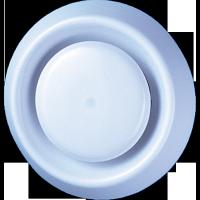Anemostat plastic, Vents, A125VR, D 125 mm, 105 mm