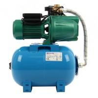 Hidrofor Wasserkonig HW3200/25 Plus, cu pompa autoamorsanta din fonta + vas 24 L + presostat + manometru + furtun flexibil + racord 5 cai, 750 W