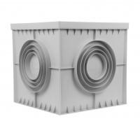 Camin monolitic Plus POZ01 - 1371, 550 x 550 mm