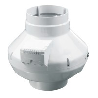 Ventilator centrifugal PVC pentru tubulatura Vents VK100, D 100 mm, 59 W, 2820 RPM, 250 mc/h