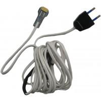 Cablu alimentare cu capac, pentru interior, 400 cm