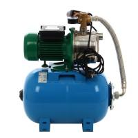 Hidrofor Wasserkonig WTX 9/25H, cu pompa autoamorsanta din inox + vas 24 L + presostat + manometru + furtun flexibil + racord 5 cai, 900 W