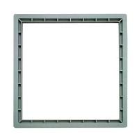Prelungire pentru camin, monolitic, co-polimer, H 100 mm, 300 x 300 mm