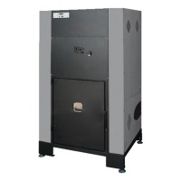 Cazan termic pe peleti Idrobox, cu ardere normala, din aliaj otel, 30 kW, 6 trepte de putere