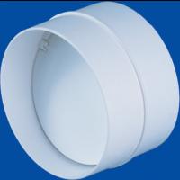 Conector cu clapeta antiretur, pentru tub ventilatie, Vents, D 150 mm