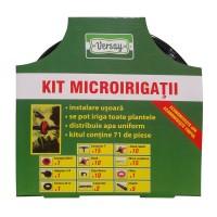 Kit pentru microirigatii Versay T1, negru, polietilena
