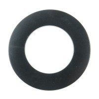 Rozeta pentru cazane peleti, otel, 80 mm, negru