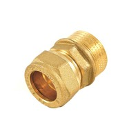 "Racord compresie cu inel, alama, FE, 22 mm x 3/4"""
