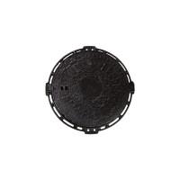 Capac fonta cu inchizator + rama, pentru zone cu trafic usor, B 125, FCB700