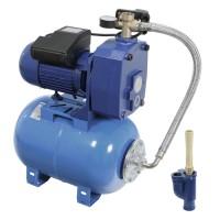 Hidrofor Wasserkonig HW40/25H, cu pompa autoamorsanta din fonta + rezervor 24 L + presostat + manometru + furtun flexibil + racord 5 cai + ejector, 1500 W